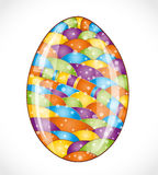 Colorful easter egg. Royalty Free Stock Photos