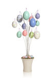 Colorful Easter Egg Tree Royalty Free Stock Images