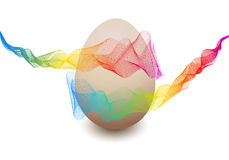 Colorful Easter egg, vector Stock Photo