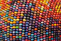 Colorful Easter eggs. Abstract easter colorful background Stock Images