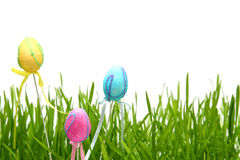 Colorful Easter eggs Stock Photos