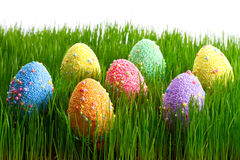 Colorful Easter eggs Royalty Free Stock Photos