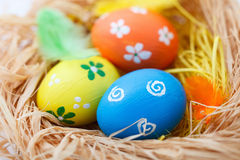 Colorful Easter eggs Royalty Free Stock Photography