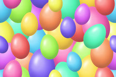 Colorful Easter eggs background Royalty Free Stock Photo
