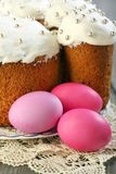 Colorful Easter eggs. Stock Images