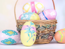 Colorful Easter Eggs Closeup Royalty Free Stock Photo