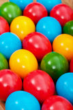 Colorful easter eggs closeup Royalty Free Stock Photography