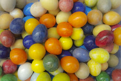 Colorful easter eggs. A collection of colorful easter eggs Royalty Free Stock Photos