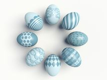 Colorful Easter eggs. Stock Photography
