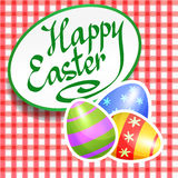 Colorful Easter eggs for Easter holidays design. Easter eggs Royalty Free Stock Image