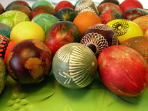 Colorful Easter eggs Stock Images
