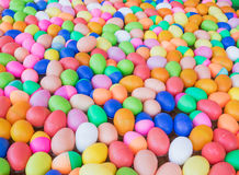 The Colorful easter eggs Stock Image