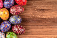 Colorful Easter eggs. Royalty Free Stock Image