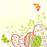 Colorful Easter holiday illustration Stock Photography