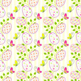 Colorful Easter holiday seamless pattern Royalty Free Stock Images