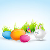 Colorful easter illustration Royalty Free Stock Photography