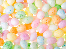 Colorful Easter Jelly Bean Background Royalty Free Stock Photos