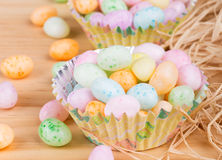 Colorful Easter Jelly Beans Stock Images