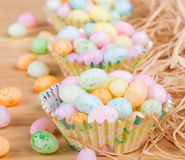 Colorful Easter Jelly Beans Stock Photos