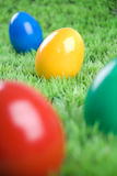 Colorful eastereggs Royalty Free Stock Image