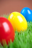 Colorful eastereggs Stock Images