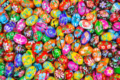 Colorful eastern eggs Royalty Free Stock Images