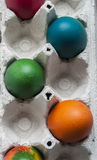 Colorful eastern eggs Royalty Free Stock Image