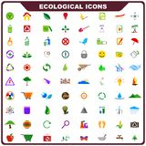 Colorful Ecological Icon Royalty Free Stock Image