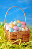 Colorful egg candies Stock Image