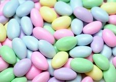 Colorful egg candy Royalty Free Stock Images