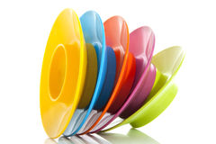 Colorful egg-cups Royalty Free Stock Photos