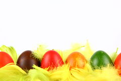 Colorful Eggs Stock Photos