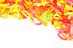 Colorful of elastic band Royalty Free Stock Photo