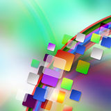 Colorful elegant on abstract background royalty free illustration