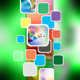 Colorful  elegant on abstract background. Colorful elegant on abstract background Stock Photo