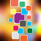 Colorful elegant on abstract background vector illustration