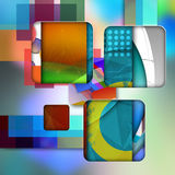Colorful  elegant on abstract background. Colorful elegant on abstract background vector illustration