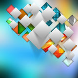 Colorful elegant on abstract background Stock Photography