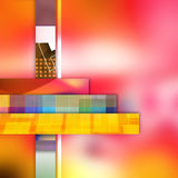 Colorful elegant on abstract background Royalty Free Stock Images