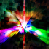 Colorful elegant on abstract background Royalty Free Stock Photo