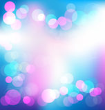 Colorful elegant abstract background with bokeh li Royalty Free Stock Images
