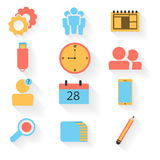Colorful elements for Business. Stock Photography