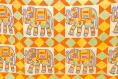 Colorful  elephants Stock Image