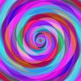 Colorful ellipse fractal spiral design background Stock Photos