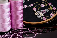 Colorful Embroidery Royalty Free Stock Photo