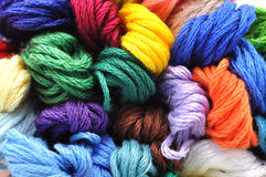 Colorful Embroidery Thread Royalty Free Stock Photo