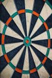 Colorful and empty darts board Stock Photo