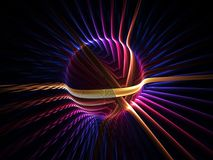 Colorful energy globe Royalty Free Stock Photo