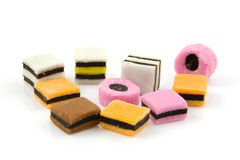 Colorful English candy Royalty Free Stock Photos