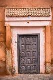 Colorful entrance doors in Medina,Morocco.  Royalty Free Stock Photos